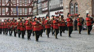 Show and Brass Band der Freiwilligen Feuerwehr Alsfeld