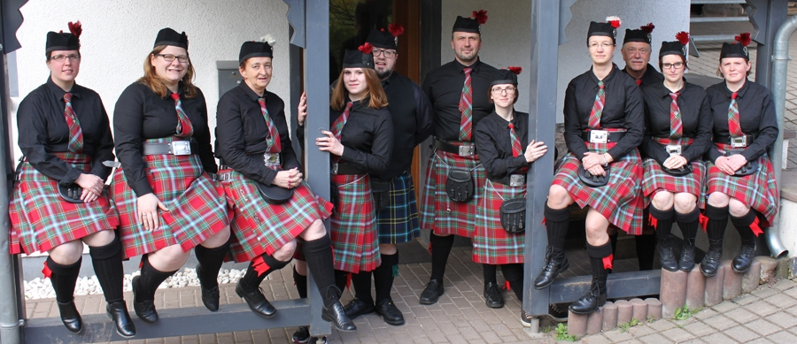 The Pipes and Drums of Cherrytown