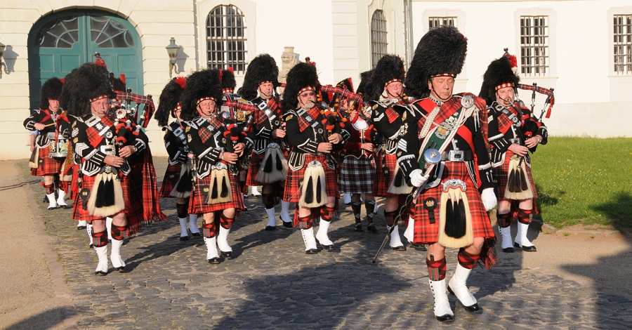 The City of Rochester Pipe Band